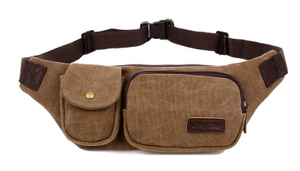 Canvas Travel Waist Pack
